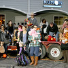 Little trick-or-treaters, corralled by their parents, show off their costumes to judges during the Boone Village Halloween Party Tuesday night, Oct. 29.