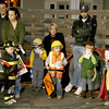 Youngsters dressed as everything from an astronaut to a banana vampire display their costumes for the judges during the Boone Village Halloween Party Tuesday, Oct. 29. First-, second- and third-place winners received prizes, as did the scariest and funniest costumes.