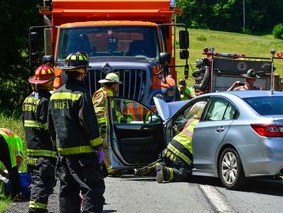 Fatal head-on crash on Route 9 - 071218