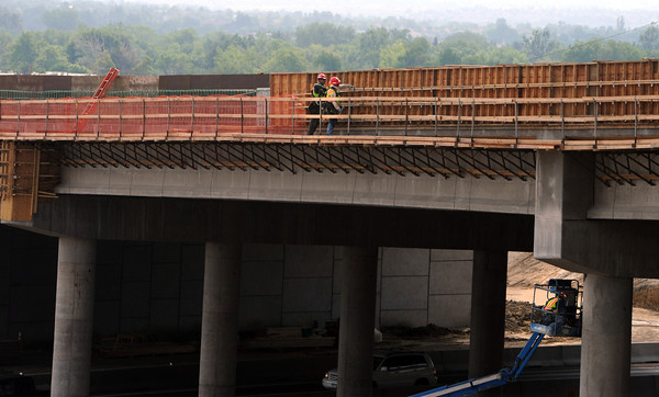 New Overpass in Broomfield and Hwy 36