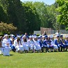 LINDA CARLSEN SPERRY — BRATTLEBORO REFORMER<br /> People celebrate Hinsdale's 2019 graduating class on Saturday, June 8, 2019.