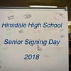 RISTOPHER RADDER - BRATTLEBORO REFORMER<br /> Several seniors from Hinsdale High School attend Senior Signing Day to celebrate what the students will do after graduation on Thursday, April 26, 2018.