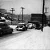 Cars line Union Street in 1945. (File photo).
