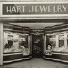 Photo provided by Lorain Historical Society <br> Architectural details on a Hart Jewelry window display area at 613 Broadway Ave., Lorain.
