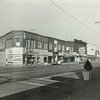 Photo provided by Lorain Historical Society <br> A 1950s photo shows the west side of Broadway Avenue at 4th Street in Lorain with businesses such as Boston's Discount Prescriptions and Pool Palace.