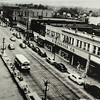 Photo provided by Lorain Historical Society <br> A bird's eye view of Broadway Avenue in Lorain with businesses such as S.S. Kresge Co. and Tivoli Theater.