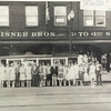 Photo provided by Lorain Historical Society <br> Employees stand outside a Neisner Bros. Inc., store in the late 1920s or early 1930s at 330 Broadway Ave., Lorain.
