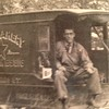 Photo provided by Jim Long <br> Herman Tyson, a grandfather of Jim Long, is shown on a horsedrawn cart for Star Bakery which in the 1920s was located in Lorain.