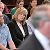 Brian Baker father of Christopher Baker gives his victim impact statement at Brendan Hoffman sentencing before Judge Debra Young in Rensselaer County Court, Thursday April 24, 2014 (Mike McMahon - The Record)