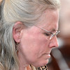 Christopher Bakers' mother Nancy Peterson gives victim impact statement at Brendan Hoffman sentencing before Judge Debra Young in Rensselaer County Court, Thursday April 24, 2014 (Mike McMahon - The Record)