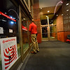 KRISTOPHER RADDER - BRATTLEBORO REFORMER<br /> Jason Disy, the general manager at Target in Keene, N.H., unlocks the door.