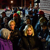 KRISTOPHER RADDER - BRATTLEBORO REFORMER<br /> Several hundred people wait in line moments before the Target, in Keene, N.H., opened their door.