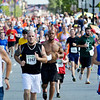 1474 runners participaqted in the 5k race before the 4th of July Parade in Pittsfield, Thursday July 4, 2013. Ben Garver / Berkshire Eagle Staff