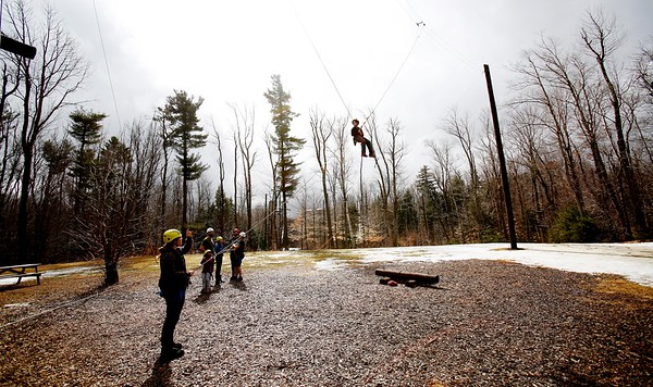 Home Base Adventure Series for Military Families at Becket-Chimney Corners YMCA-022517