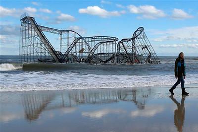 Hurricane Sandy Aftermath: Seaside