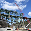 Kayla Rice/Reformer<br /> Construction on the I-91 bridge continues on April 9th.