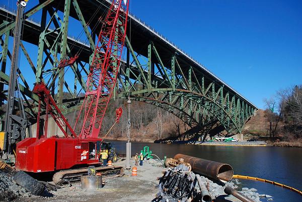 I-91 Bridge progress - 030317