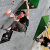 "Team USA's Carlo Traversi, left, climbs during an International Federation of Sport Climbing (IFSC) Lead World Cup competition on Saturday, Oct. 8, at Movement Climbing and Fitness on 28th Street in Boulder. For more photos and a video of the event go to  <a href=""http://www.dailycamera.com"">http://www.dailycamera.com</a><br /> Jeremy Papasso/ Camera"