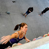"Team Austria's Christine Schranz during an International Federation of Sport Climbing (IFSC) Lead World Cup competition on Saturday, Oct. 8, at Movement Climbing and Fitness on 28th Street in Boulder. For more photos and a video of the event go to  <a href=""http://www.dailycamera.com"">http://www.dailycamera.com</a><br /> Jeremy Papasso/ Camera"