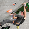 "Team USA's Matty Hong climbs during an International Federation of Sport Climbing (IFSC) Lead World Cup competition on Saturday, Oct. 8, at Movement Climbing and Fitness on 28th Street in Boulder. For more photos and a video of the event go to  <a href=""http://www.dailycamera.com"">http://www.dailycamera.com</a><br /> Jeremy Papasso/ Camera"