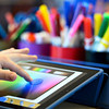 20130116_STREAM_262.jpg Third-grader Gavin Caraway selects a color while drawing on an iPad at Ryan Elementary School in Lafayette on Wednesday, Jan. 16, 2013. <br /> (Greg Lindstrom/Times-Call)