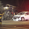 A multi car accident at the intersection Iris Avenue and 19th Street in Boulder<br /> <br /> Photo by Paul Aiken / The Camera /