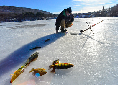Ice Fishing at Retreat Meadows
