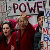 KRISTOPHER RADDER - BRATTLEBORO REFORMER<br /> More than 100 people marched around Brattleboro, Vt., to show support for International Women's Day on Wednesday, March 8, 2017. The march was organized by the Brattleboro based Women's Action Team.
