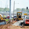 J-Mag/T. Rob Brown<br /> Work continues on the I-44 and Range Line Road interchange Wednesday afternoon, May 1, 2013.