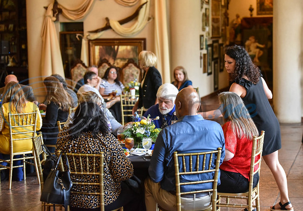 Jacksonville Leadership Institute students along with family and employer sponsors attend the graduation ceremony for the program's 33rd graduation class. The event was held on Tuesday at the Castle on the Lake.