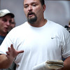 Globe/T. Rob Brown<br /> Steve Box of Pierce City speaks about the Holy Bible and the dangers of methamphetamines during a recovery meeting Sunday, Nov. 27, 2006, at Shoal Creek Revival Church east of Granby.<br /> Section: Special Section - Meth Story: Max McCoy