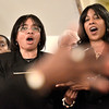 Mike McMahon - The Record, The MLK Combined Choir sings at the  Troy Area United Ministries Interfaith Martin Luther King service at the Bethel Paptist Church in Troy,  January 19, 2014.