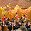 Mike McMahon - The Record, Doane Stuart School celebrated the Chinese New Year with a 40-ft Dragon.  January 28, 2014.