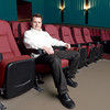 J.S.CARRAS/THE RECORD  Darren Grout, CEO of Madison Entertainment Group sits in newley renovated theater Wednesday, January 15, 2014 at the Madison Theater 1036 Madison Avenue in Albany, N.Y..