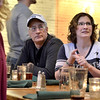 Mike McMahon - The Record, John and Rachel Gibson of Clifton Park watch the New England Patriots and the Denver Broncos at The Festival of Maniliness celebrated at Browns Brewing Co. while watching the NFL play-off games,  January 19, 2014.