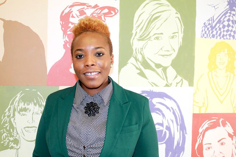 Lauren Halligan/The Record Troy YWCA Executive Director Daquetta Jones Friday January, 24, 2014.