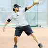 Tom Kahnle 23, of Latham works out at All-Stars Academy Thursday,  January 31, 2013 in Latham. (J.S.Carras/The Record)