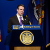 J.S.Carras/The Record  New York Gov. Andrew Cuomo delivers his 2014 executive budget Tuesday, January 21, 2014 at the Empire State Plaza Convention Center in Albany, N.Y..