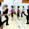 "Bambi Harrison, left, instructor Victoria Robertson, Nan Kenney and Jamie Ryan-Karels workout during a Jazzy Zumba class on Tuesday, March 27, at the Flatirons Athletic Club in Boulder. For more photos and video of the class go to  <a href=""http://www.dailycamera.com"">http://www.dailycamera.com</a><br /> Jeremy Papasso/ Camera"