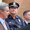 District Attorney Joe Early Jr. held a press conference  on the steps of the Worcester Superior Court on Friday afternoon to talk about the body found on I-190 in Sterling today believed to be Jeremiah Oliver. Listen to Early is Acting Fitchburg Police Chief Phil Kearns. SENTINEL & ENTERPRISE/JOHN LOVE