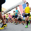 Globe/T. Rob Brown<br /> Runners participate in the Memorial Run Saturday morning, May 18, 2013, in downtown Joplin.