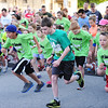 Globe/T. Rob Brown<br /> Children start the Kids Memorial Run Saturday morning, May 18, 2013, in downtown Joplin.