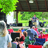Lucas DeBard performs during Boone's Got Talent Friday at Lebanon Memorial Park.
