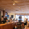 Customers enjoy music and wine at Hopwood Cellars.