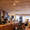 Customers enjoy music and wine at Hopwood Cellars.