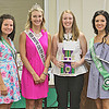 "SPEAK IT<br /> Elizabeth Pearl | The Lebanon Reporter<br /> VERBAL WINNER: Molly Grotjan, an eight-year 4-H member, was named grand champion in verbal communications at the Boone County 4-H Fair on Monday. Grotjan gave a presentation on a 4-H trip she took to Washington D.C.<br /> ""I wanted to talk about my experience at the national 4-H conference,"" she said. ""I gave the same speech to the county council in June and I've been tweaking it since then.""<br /> Grotjan said she practiced in front of the computer in her dining room, looking out especially for volume and for places where she could insert more of her personality.<br /> Dominick Seppel was the reserve grand champion for his speech on geography. Seppel was also the interactive champion, with reserve Josslyn Massey. Grotjan was the interactive champion."