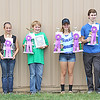 GRAND CHAMPIONS: Grand Champions in the Boone County 4-H Fair Poultry Show were, from left, Alisdair Curts, Isabelle Moore, Duncan Curts, Kate Fuesting, Aiden Paulsrud and Allison Akers.