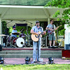 The Hunter Smith Band warms up and does a sound check prior to their performance at the 2013 Zionsville Relay for Life at Lions Park Friday, June 14.