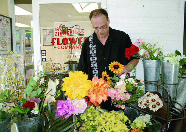 Brian Davies is opening Zionsville Flower Company at 575 S. Main St., formerly Nana's Heartfelt Arrangements.