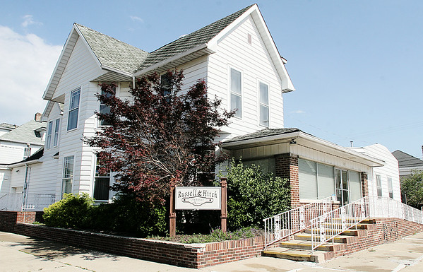 Rod Rose The Lebanon Reporter<br /> Russell & Hitch Funeral Home's Lebanon location will be sold at auction on July 24.
